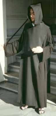 Benedictine Monks Tunic and Scaoular